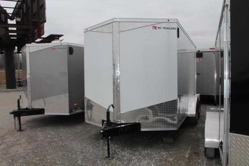 2020 RC Trailers 7'x14'+6 RD Enclosed Cargo Trailer