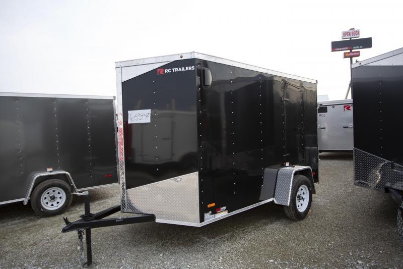 2020 RC Trailers 6 X 10 Double Door Enclosed Cargo Trailer
