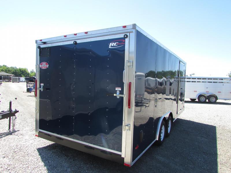 RC Trailers 20 FT 7h Car Enclosed Cargo Trailer