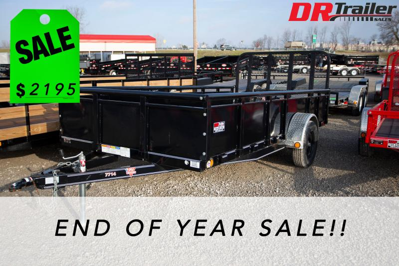 2019 PJ Trailers 14 ft Utility Trailer