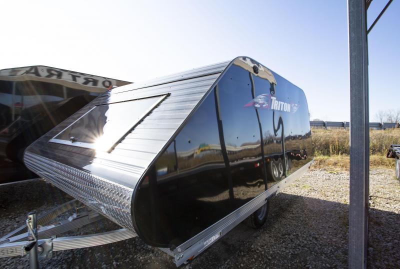 2020 Triton Trailers 11 Tilt Snowmobile Trailer
