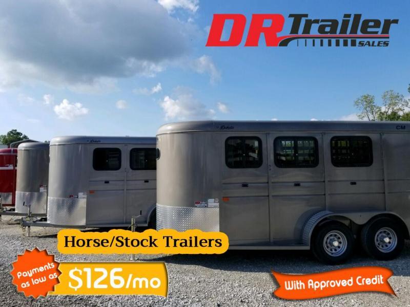 2019 CM 3 Slant Horse Trailer