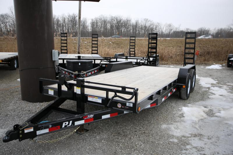 NEW PJ Trailers 20' Fold-Up Ramps Flatbed Trailer
