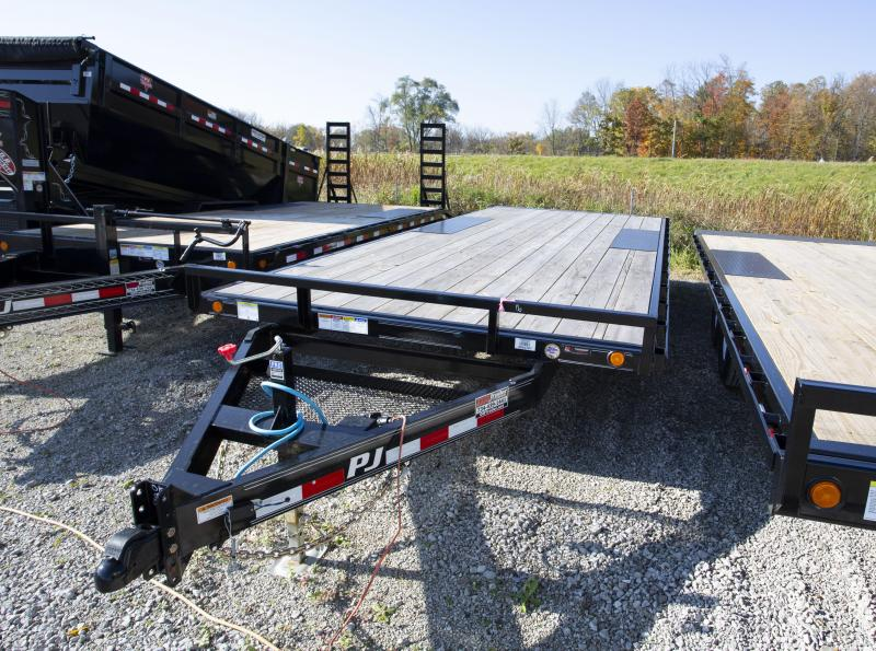 2020 PJ Trailers 20 ft Deckover Flatbed Trailer