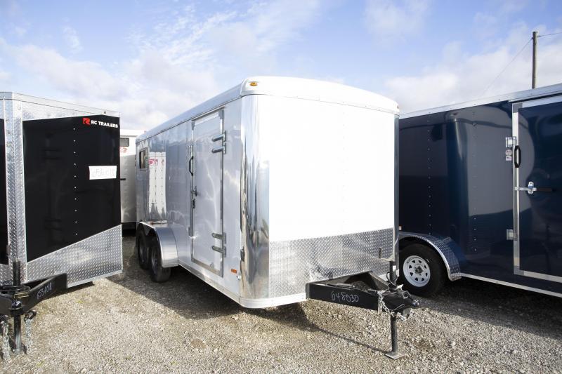 2019 RC Trailers 7 X 16 Double Door Enclosed Cargo Trailer