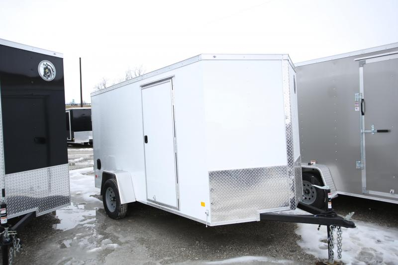 2020 Darkhorse Cargo 6 x 12 Enclosed Cargo Trailer