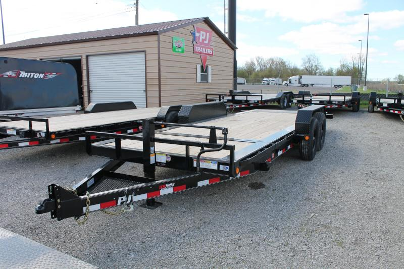 2020 PJ Trailers 20' TJ 16K Flatbed Trailer