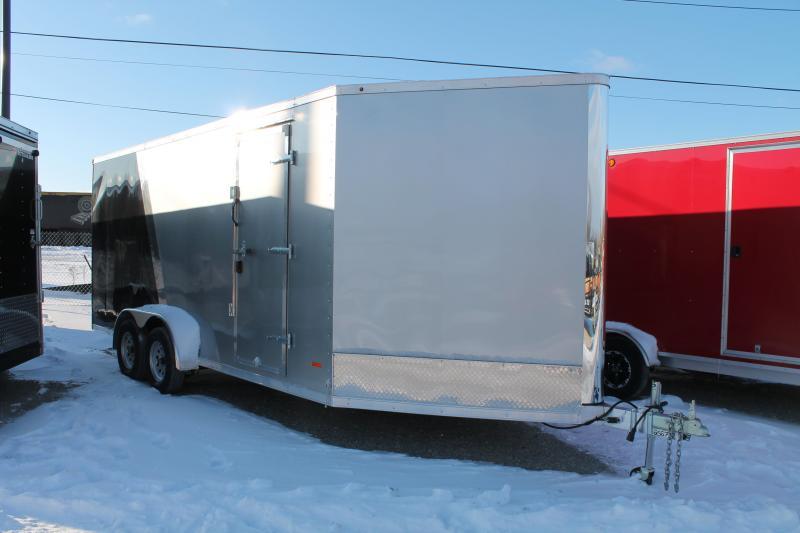 "2020 RC Trailers 7 x 23 + 12"" Snowmobile Trailer"