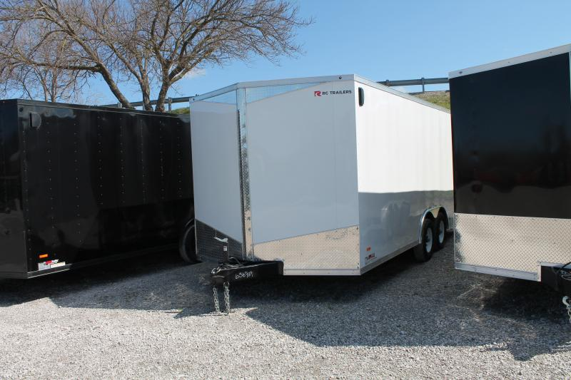 2020 RC Trailers 8' x 18' x 7' 10K Car / Racing Trailer