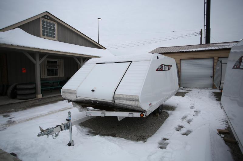 2019 Triton Trailers 12' On/Off Snowmobile Trailer