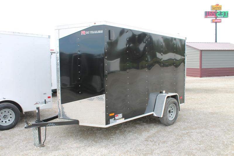 2020 RC Trailers 6'X10' RD Enclosed Cargo Trailer