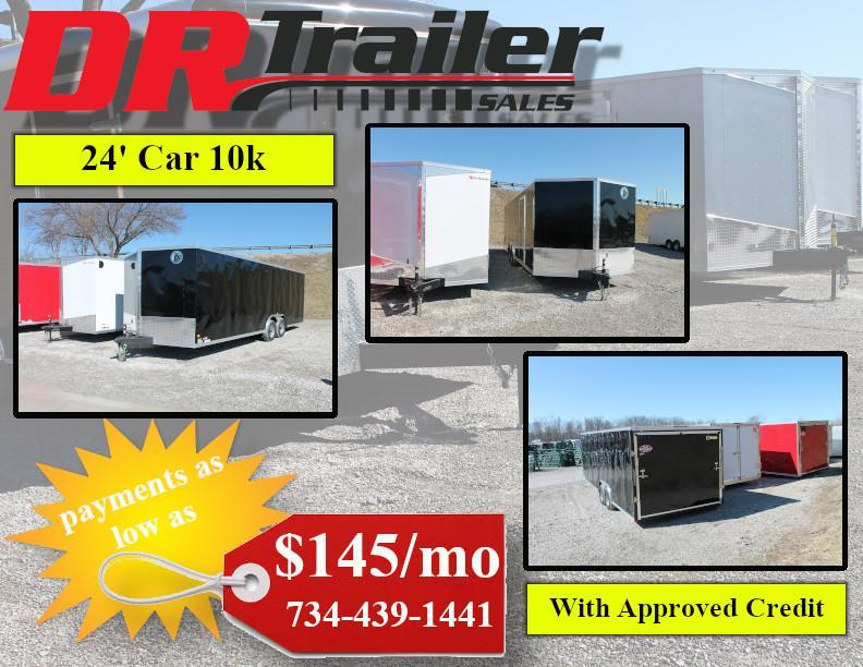 2020 Darkhorse Cargo 24' RD 10K Enclosed Cargo Trailer