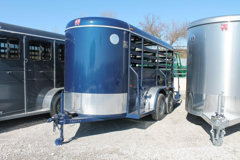 2020 W-W Trailer 14Ft STOCK Livestock Trailer