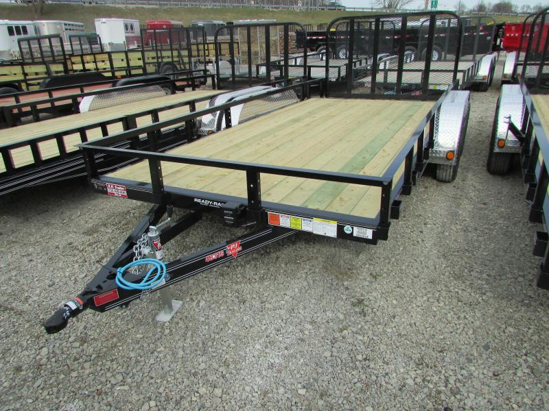 2020 PJ Trailers 18 ft Landscape Commercial Grade Flatbed Trailer