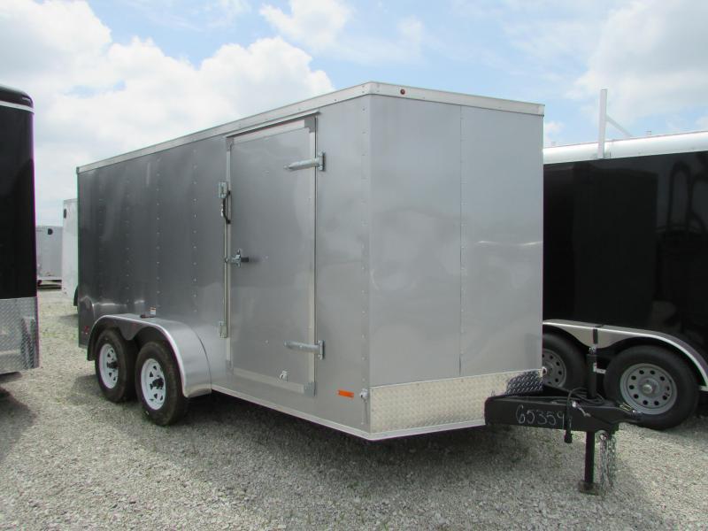 2020 RC Trailers 7 x 14 Ramp Door Enclosed Cargo Trailer