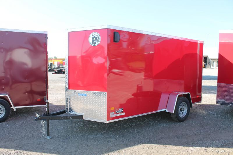 2020 Darkhorse Cargo 6'X12' RD Enclosed Cargo Trailer