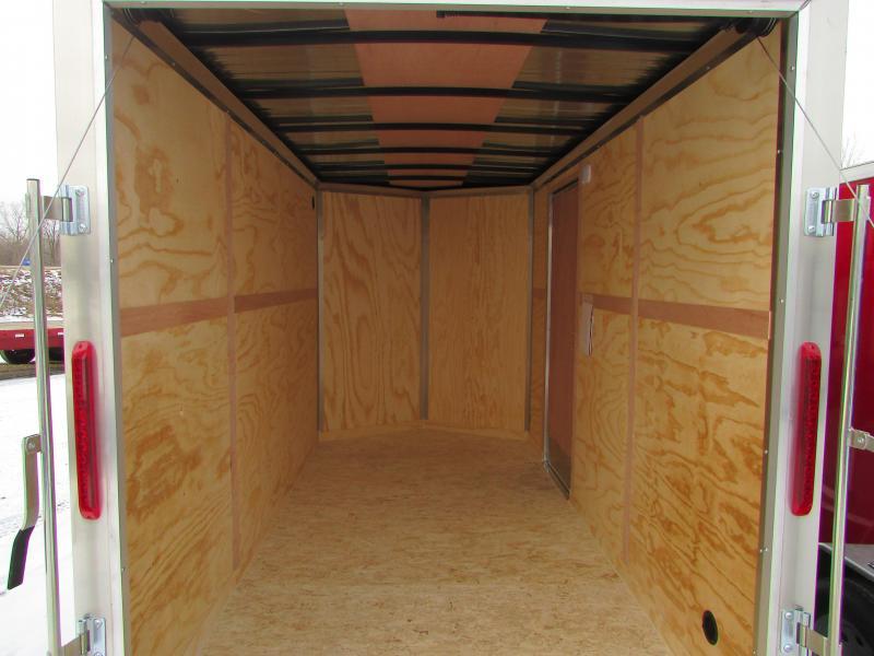 2019 RC Trailers RWT 6X12 7' High Enclosed Cargo Trailer