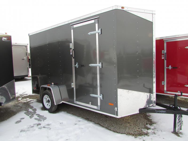 RC Trailers RWT 6X12 7' High Enclosed Cargo Trailer