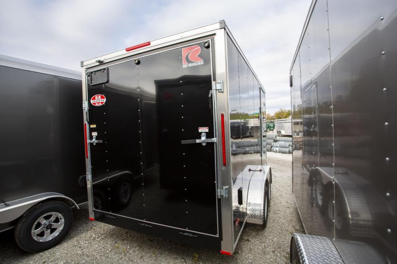 2020 RC Trailers 7 x 14 Ramp Door 12 inches Enclosed Cargo Trailer