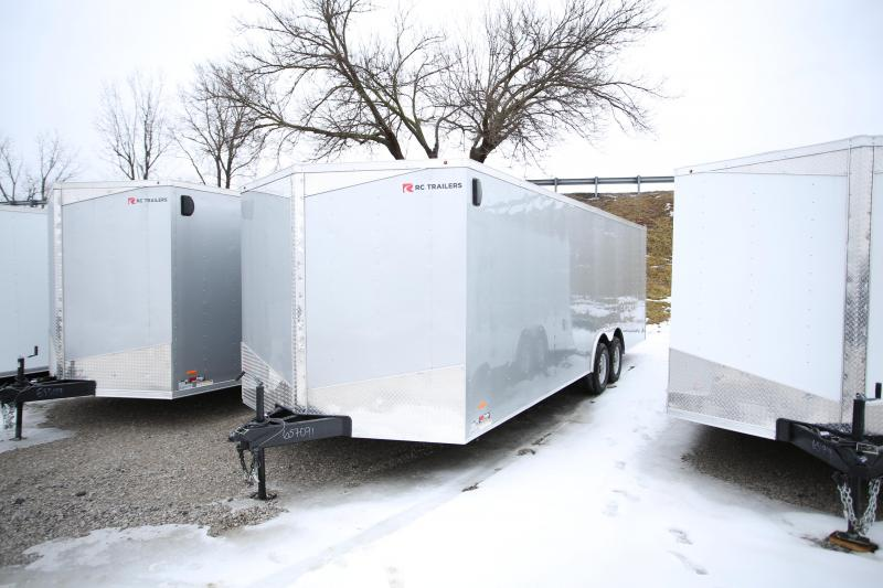 2020 RC Trailers 24' Carhauler Enclosed Cargo Trailer