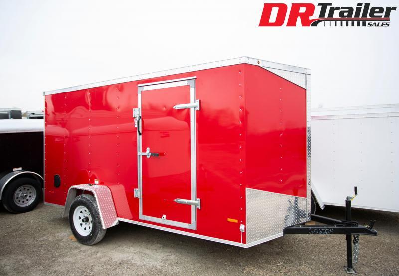 2020 RC Trailers 6 X 12 Enclosed Cargo Trailer