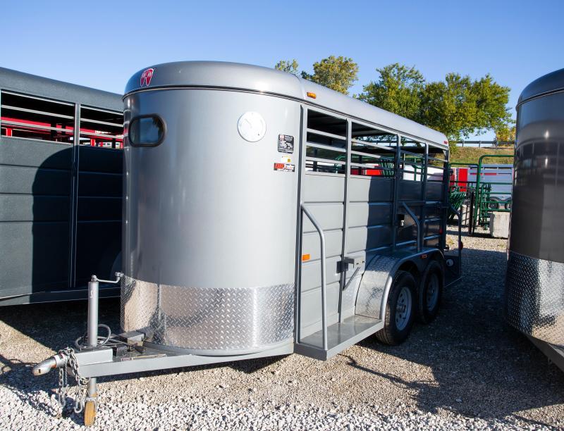 2020 W-W Trailer AA 14x5 Livestock Trailer
