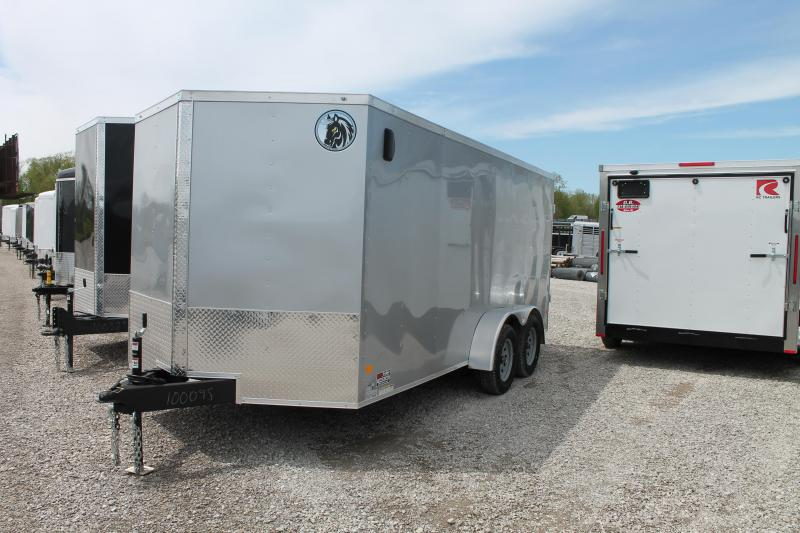 2020 Darkhorse Cargo 7'X16' DD Enclosed Cargo Trailer