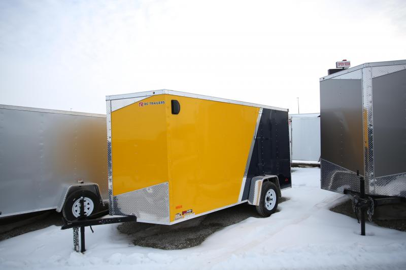2020 RC Trailers 6 x 12 Ramp Door Enclosed Cargo Trailer