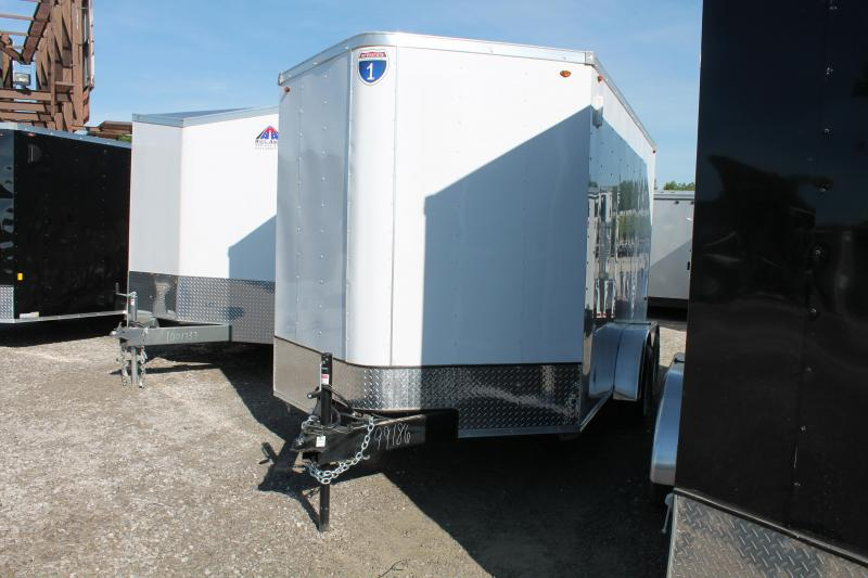 2020 Interstate 7'X12' RD Enclosed Cargo Trailer