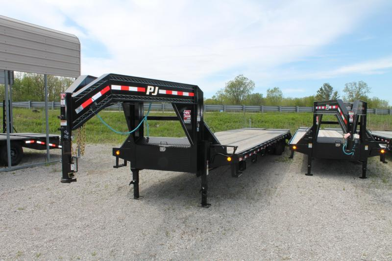 2020 PJ Trailers 40' MR 25K Flatbed Trailer