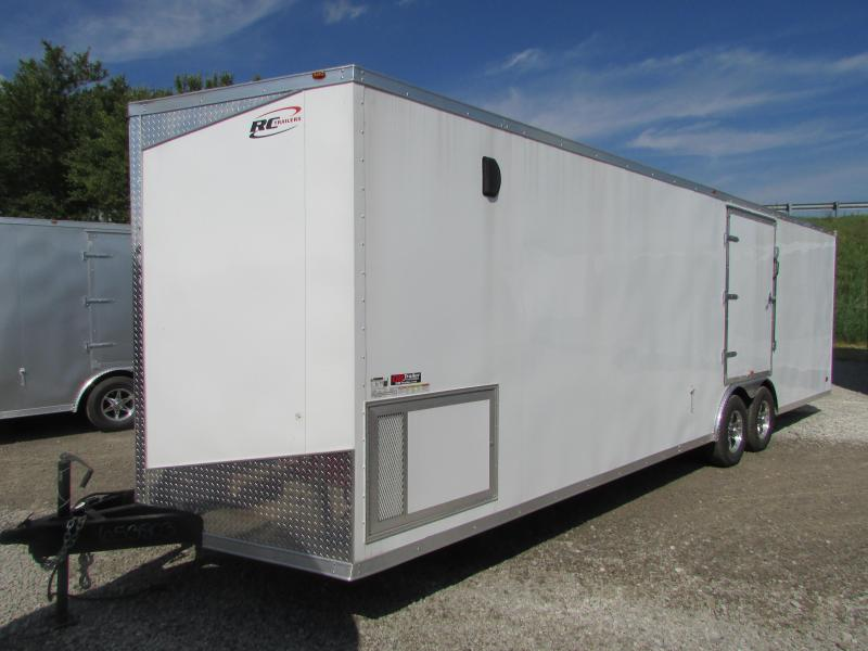 2019 RC Trailers 28 ft Enclosed Car / Racing Trailer