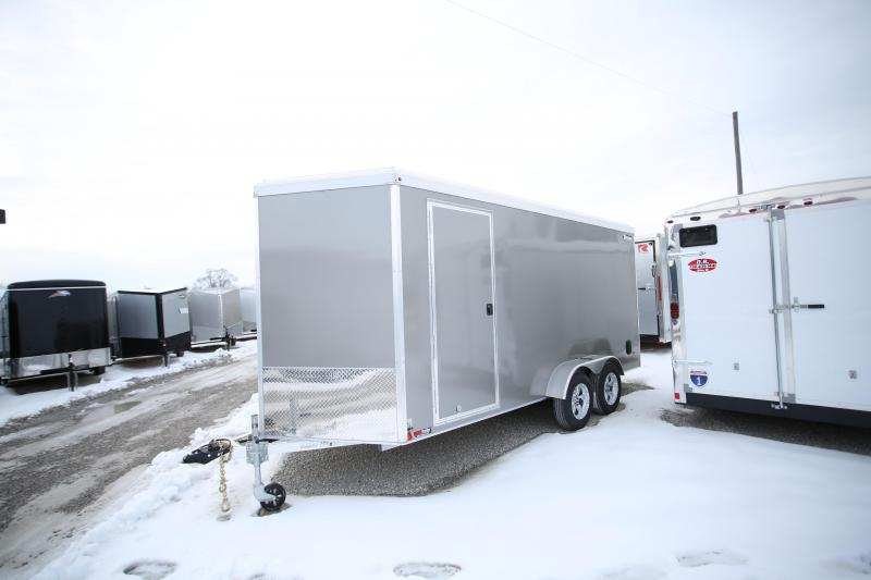 2020 Triton Trailers 7 x 16 + 12in Height Enclosed Cargo Trailer