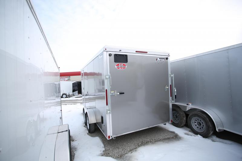 NEW Triton Trailers 7 x 16 + 12in Height Enclosed Cargo Trailer