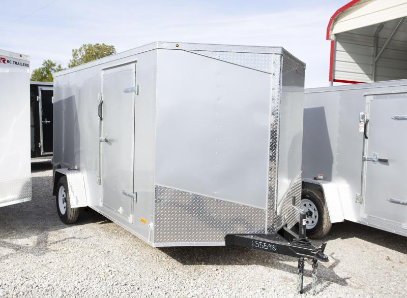 2020 RC Trailers 7x12 Double Door Enclosed Cargo Trailer