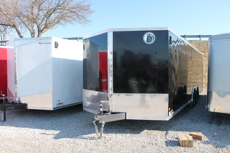 2020 Darkhorse Cargo 24 Ft Car Hauler Enclosed Cargo Trailer