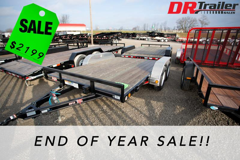 2018 PJ Trailers 12 ft Car / Racing Trailer