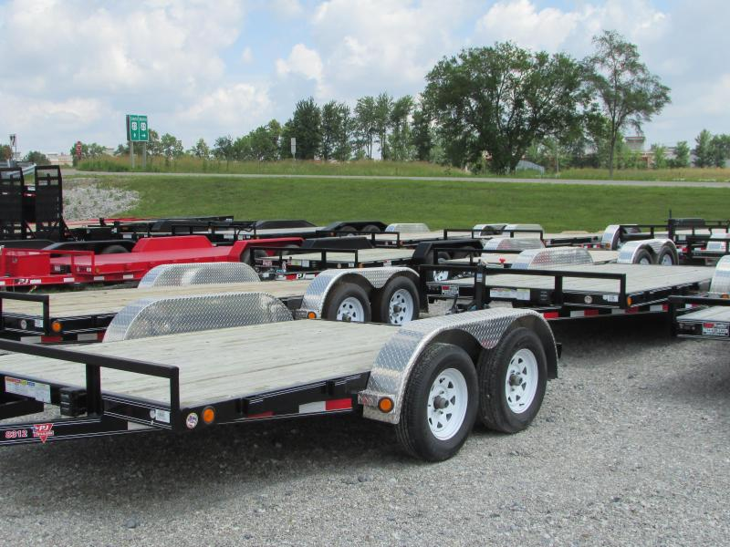2020 PJ Trailers 12 ft Flatbed Trailer