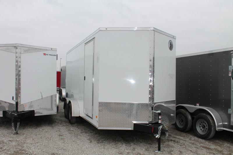 2020 Darkhorse Cargo 7x16 RD Enclosed Cargo Trailer