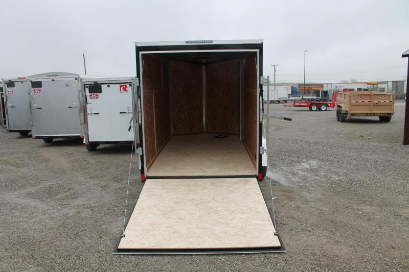 "2021 Impact Trailers 6'X12' + 6"" Enclosed Cargo Trailer"