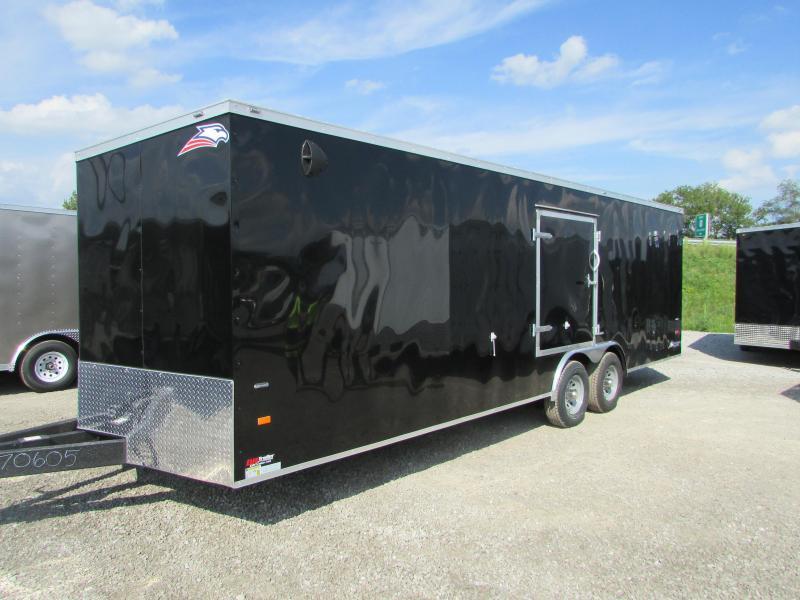 American Hauler Industries 24 ft Carhauler Enclosed Cargo Trailer