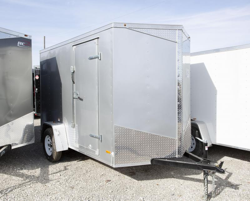 2020 RC Trailers 6 X 10 ft 6 in Ramp Enclosed Cargo Trailer