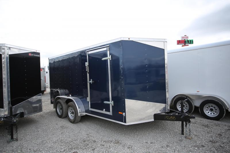 NEW RC Trailers 7 x 14 Double Door Enclosed Cargo Trailer