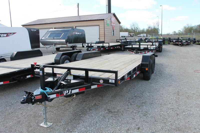 2020 PJ Trailers 20' TH 10K Flatbed Trailer