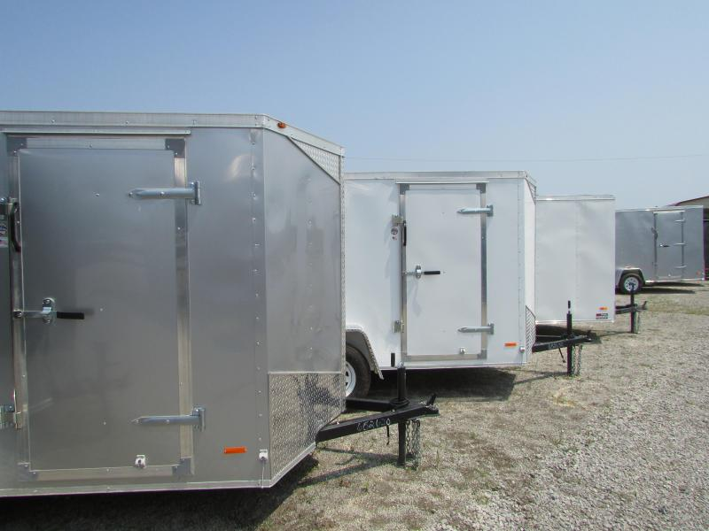 RC Trailers 6 x 12 Enclosed Cargo Trailer