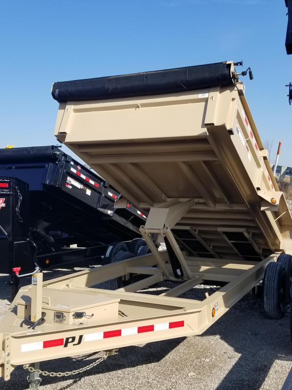 2019 PJ Trailers 16ft Dump Trailer