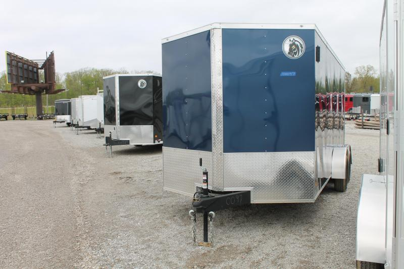 2020 Darkhorse Cargo 7'X16'+6 Enclosed Cargo Trailer