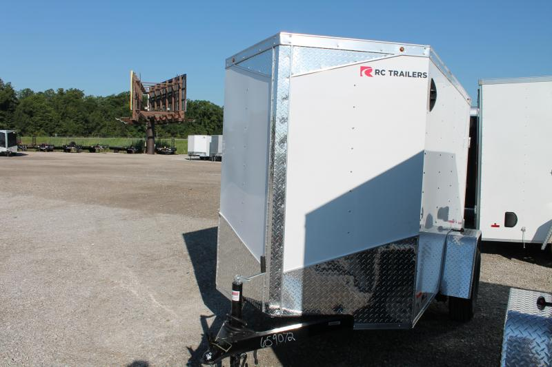 2021 RC Trailers 5' X 8' RD Enclosed Cargo Trailer
