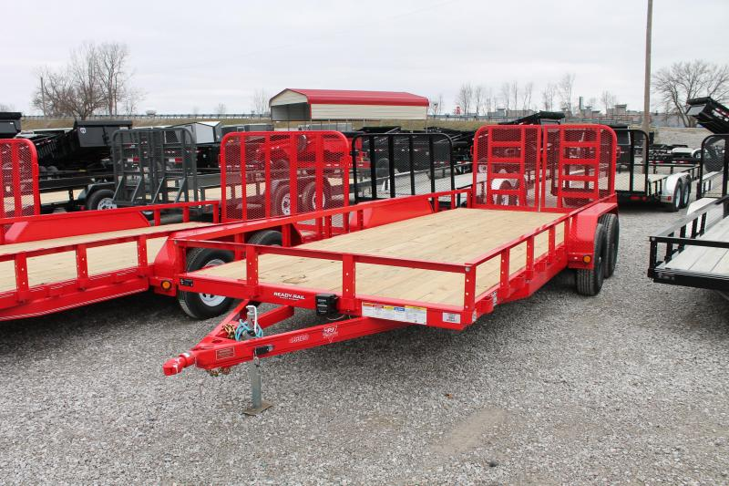 2020 PJ Trailers 20' RG 10K Equipment Trailer