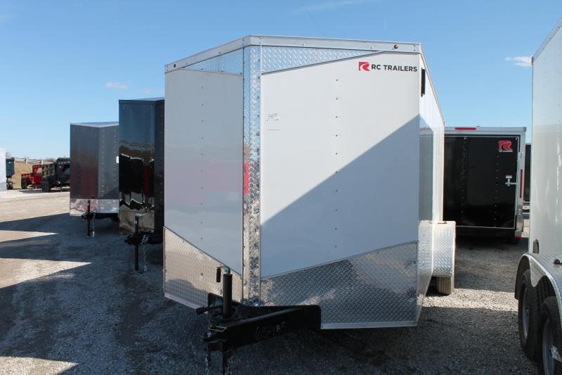 2020 RC Trailers 7x16 RD Enclosed Cargo Trailer