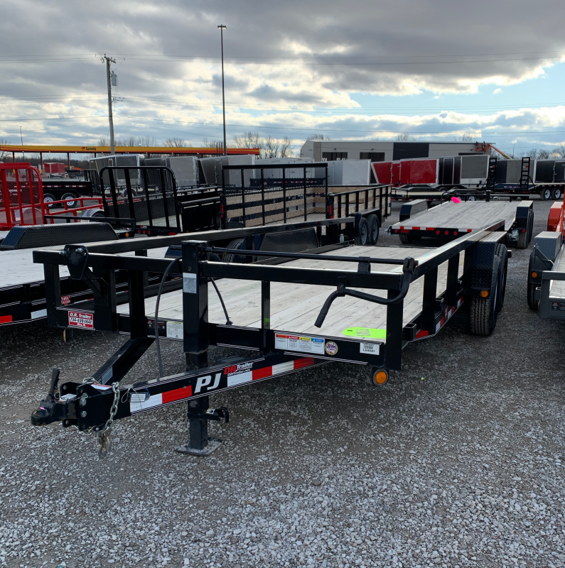 2018 PJ Trailers 20 x 83 Pipe Equipment Trailer